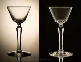 Glassware black and white line by periwinklepinwheel