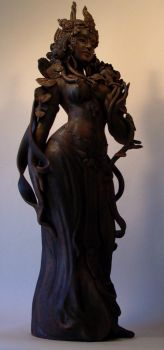 'Dancing Tara' by JulieSwanSculpture