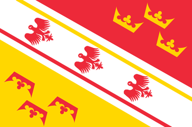 Flag of Alsace-Lorraine by Breakingerr