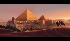7 wonders Gizeh pyramides by MiguelCoimbra