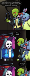 What if Little DraculaTale. (Happy Halloween!) by GhostLiger