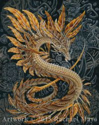 Fire of Ages 02 Dragon by rachaelm5