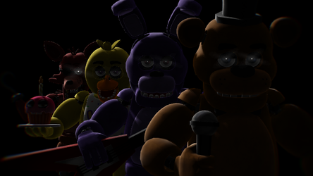 Happy 4th Anniversary, Five Nights at Freddy's! by HugoSanchez2000