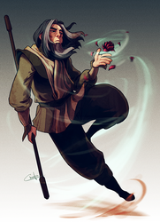 The Red Lotus by Ctreuse109
