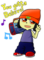 Parappa The Rapper by Anto-202
