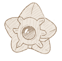 Ko-fi Sketch: Staryu by Wooled