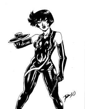 dat girl from tron by elosa