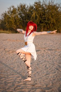 Magi: The Labyrinth of Magic- Morgiana Cosplay(3) by Alex-Willow