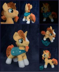 Sunburst plushie 11 inch for sale by Valmiiki