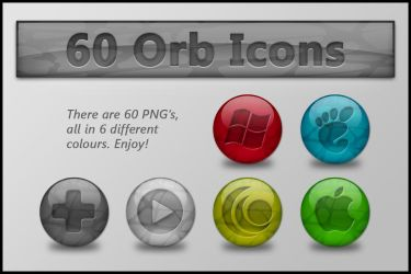 Colourful Orb Icons by KorToIk