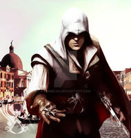 Ezio Auditore by kenmejia