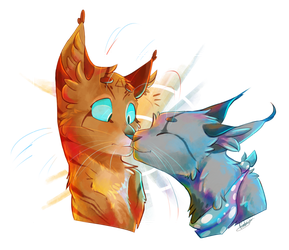 Sun and Moon by Finchwing