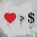Love is Greater than Money by FeiticeiraRose