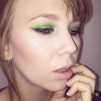 Lime Eyes by shearitmakeup