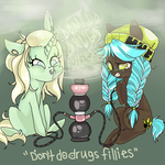 don't do drugs, fillies. by yanderedesu