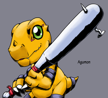 Digimon World MV: Agumon 2.0 by Midnitez-REMIX