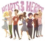 Hearts and Heroes (the gang) by RebekahKroeplin
