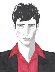 Young Dylan Dog Quickie - May 2nd 2012 by Menco