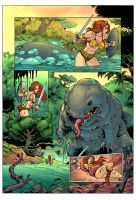 He-Man Vore: Eaten By An Ugly Giant Fish! Page 1 by zetaxinn