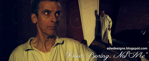 Door Boring Not Me - Doctor Who Series 8 Design by feel-inspired
