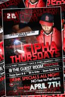 Cypher Thursdays Flyer by Numbaz