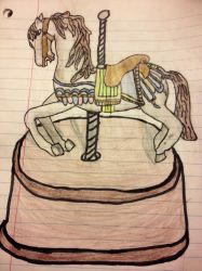 Carosel Horse by leanape09