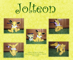 Jolteon plush collage FOR SALE by Ishtar-Creations