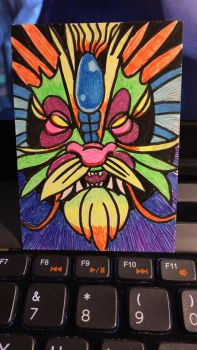 ACEO -- Gel Dragon by The-Z