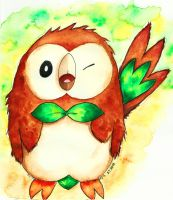 Rowlet by Goldsturm
