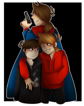 Past Now The Future / Eddsworld Fanart +Video by Emselada