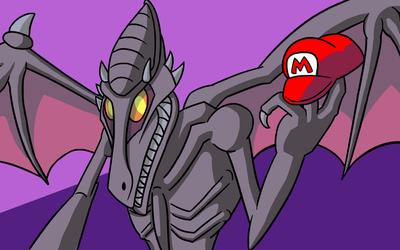 Ridley Hits the Big Time by elementhedgehog