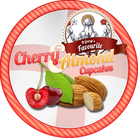Cherry and Almond Cupcakes by Echilon