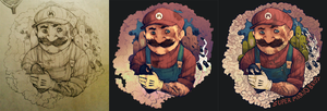 Mario the Plumber - Progress by FinnPants