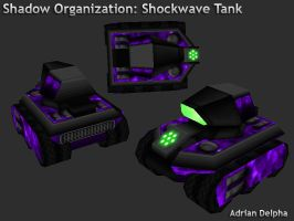Shockwave Tank by DelphaDesign