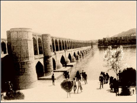 Isfahan- Br.33 Pol by h-rafiee