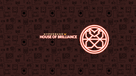 HypeSquad - House of Brilliance | Wallpaper by NaksuFR