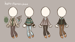[outfit set] - BluejayBae by hello-planet-chan
