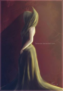 The Empress - Speedpainting by Teine-tor