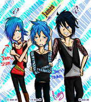 .Brothers and sister. by xiomicchi