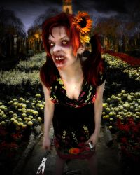 Portrait of the Damned_The Gardener by KYghost