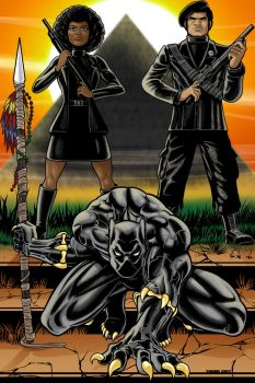 Black Panther Commission by Thuddleston