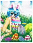 happy easter by mangamimi08