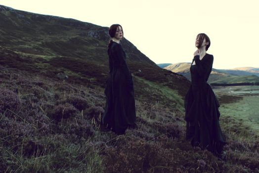 Women in the Highlands II by FleurDelacour