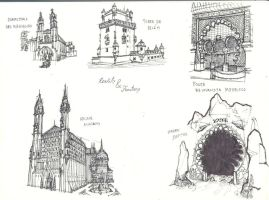 Architecture - Real vs. Fantasy by Torres-PT