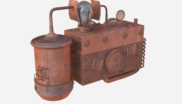 Steampunk Camera #2 by 3DMoonUkr