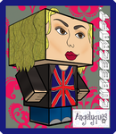 Rose Tyler Cubeecraft by angelyques