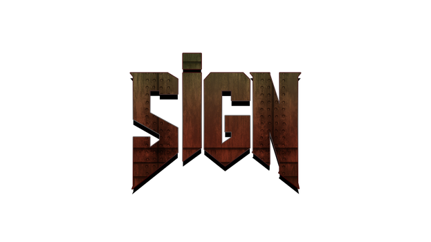 DooM-Styled Logo by The--Signmanstrr