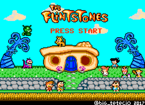 The Flintstones 8bits Tribute by Teciozzz