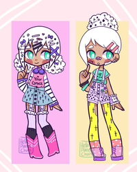 [Custom Outfits] - KyaKlutz by hello-planet-chan