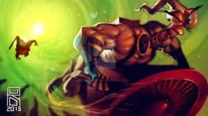 Earthworm Jim by Darkdux